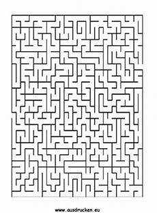 labyrinth spiel ausdrucken