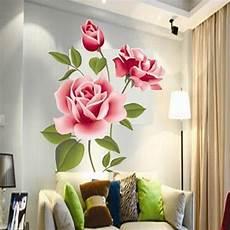 30 Gambar Lukisan Bunga Di Tembok Gambar Kitan