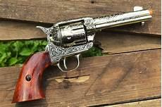 colt m1873 peacemaker fast draw revolver single action army denix replica ebay