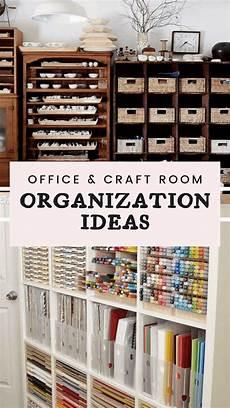 15 stunning office craft room organization ideas
