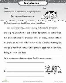 capitalization rules sentences school capitalization rules grammar for kids basic grammar