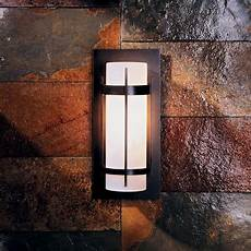 hubbardton forge 305892 banded led outdoor wall sconce