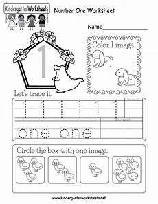 numbers worksheets for kindergarten 18393 free printable number one worksheet for kindergarten