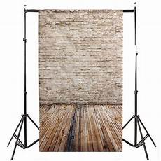 5x7ft Vinyl Wall Wood Floor Photography by 5x7ft Brick Wall Wood Floor Vinyl Studio Props Photography