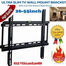 Bracket Tv Led Lcd 32 55 Inch plasma lcd led 3d tv wall bracket mount slim 26 32 37 40