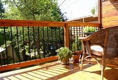 balcon bois extérieur balcon et galerie entreprise de r 233 novation entrepreneur