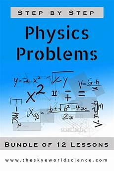 physical science worksheet ohm s answer key 13132 bundle of lessons physics problems worksheets physics problems basic math skills