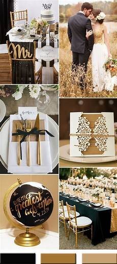 trendy gold wedding color combos brimming an elegant and luxurious outlook