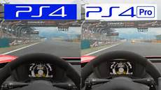 gran turismo sport ps4 vs ps4 pro vr playstation vr
