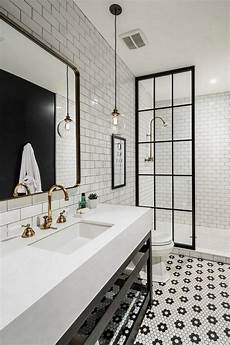 Black And White Subway Tile Bathroom Ideas by 50 Stunning Black And White Subway Tiles Bathroom Design