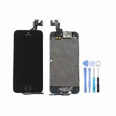Ecran Complet Noir Iphone Se Qualit 233 Premium Pas Cher
