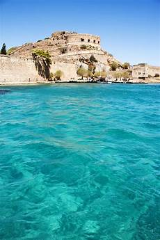 Spinalonga Bay Crete Greece We Could See It From Our