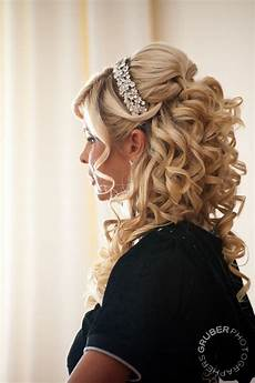 Wedding Hairstyles With Headband And Curls