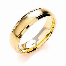 mens 18ct gold wedding rings brown and newirth mens 18ct yellow gold wedding ring anp1046 6 18y market cross jewellers