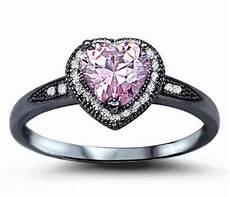 black pink wedding ring 22 black and pink wedding rings designs trends design