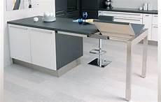 table cuisine escamotable ou rabattable 15 plan de travail escamotable amenagement cuisine en