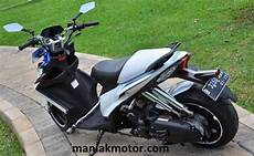 Modifikasi Motor Skydrive by Modifikasi Suzuki Skydrive Pelek Gambot Ban Jumbo