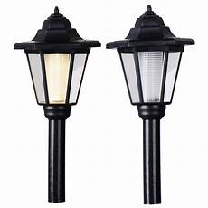 2pcs led solar light outdoor solar lights l power led path way wall landscape garden