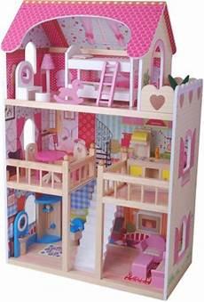 maison de poupéé en bois pas cher maison de poupee jeux et jouets pour enfant cadeau pour
