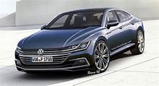 2018 Volkswagen Cc Rendering Is Sharp