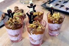 apfel zimt und nuss weihnachtliches dessert desserts