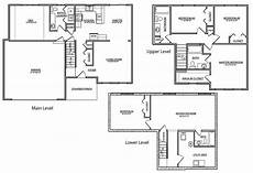 quad level house plans tri level house floor plans 20 photo gallery house plans