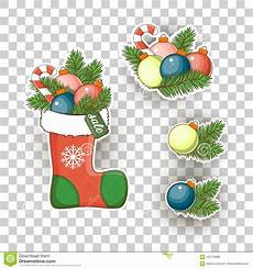 christmas sticker icons stock vector merry christmas stock vector illustration of holiday
