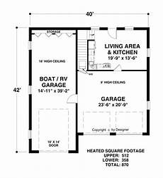 rv garage house plans boat rv garage 3068 1 bedroom and 1 5 baths the house