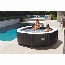 spa gonflable intex purespa carbone 6 places raviday piscine