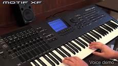 Yamaha Modif by Yamaha Motif Xf Demo 1 3 Voices