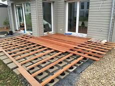Holzterrasse Fast Fertig Projekthausbau De