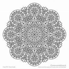 mandalas kostenlos malvorlagen ausdrucken u ausmalen