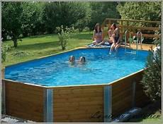 piscines hors sol design bois acier plastique grand