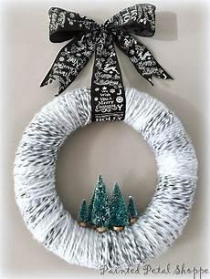 Türkranz Weihnachten Modern - kiefer baum t 252 rkranz weihnachten garn kranz moderne