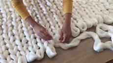 couverture geante voici comment tricoter cette couverture g 233 ante avec les