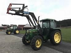 traktor allrad frontlader deere 2140 allrad mit frontlader traktor 36396