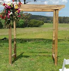 rustic wedding arch melbourne in 2019 wedding
