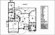 Type Of Electrical Plan by Electrical Plan With Electrical Legend Dwg File