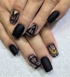 25 elegant black nail art designs koees blog