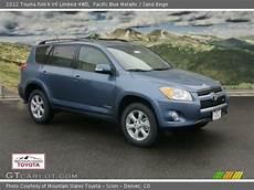 2012 Toyota Rav4 Limited V6 by Pacific Blue Metallic 2012 Toyota Rav4 V6 Limited 4wd