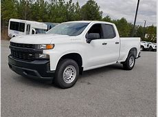 New 2019 Chevrolet Silverado 1500 Work Truck Extended Cab
