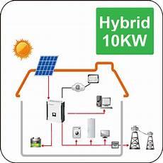 China 10kw Hybrid Solar System For Home Use China Solar