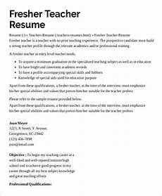 resume sles of teachers with experience 9 preschool teacher resume templates pdf doc free