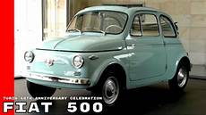 Fiat 500 In Turin 60th Anniversary Celebration