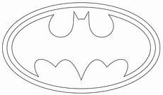 Batman Zeichen Malvorlagen Gratis Bat Symbol Coloring Pages For Cake Templates