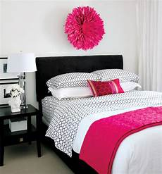 Trendy Pink Bedroom Ideas For by 20 Gorgeous Pink And Black Accented Bedrooms Home Design
