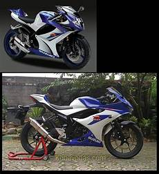 Modifikasi Gsx R150 by Modifikasi Suzuki Gsx R150 Jadi Suzuki Gsx R600