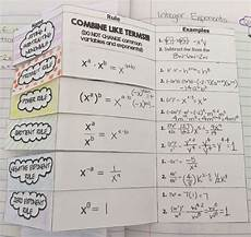 high school math fun exponent rules and naming polynomials