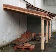 auvent terrasse appenti bois carport tradi jardins