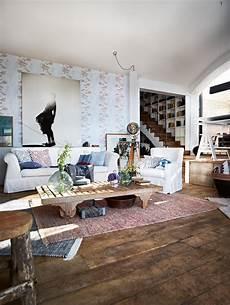Wohnzimmer Vintage Look - vintage wandgestaltung bilder ideen